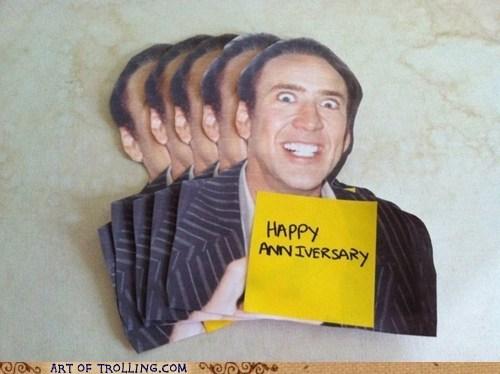 actor anniversary card celeb nic cage nicolas cage wtf