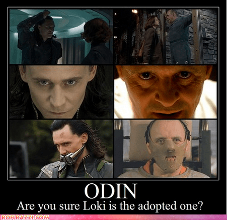 actor Anthony HOpkins celeb demotivational funny loki odin tom hiddleston - 6584926208