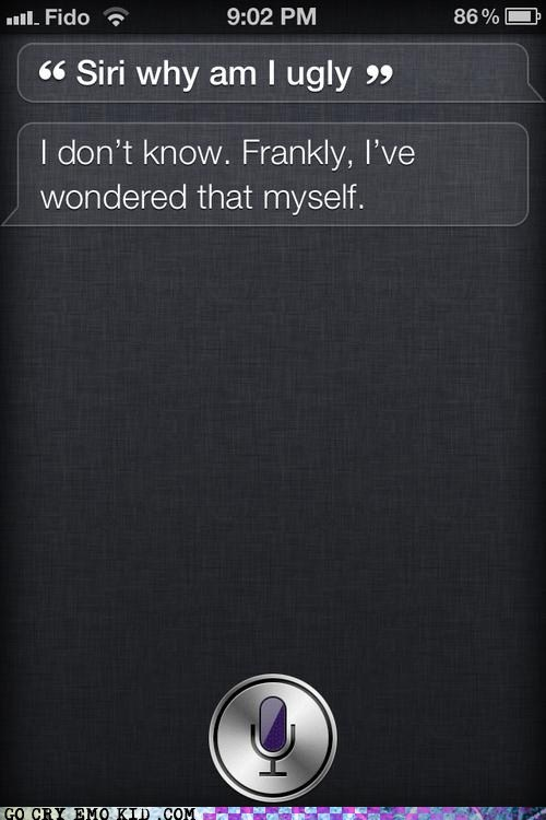 iphone,siri,ugly