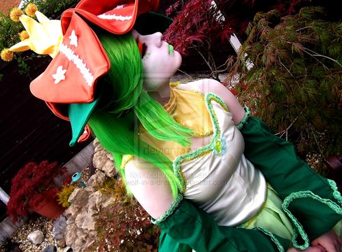 cosplay lilligant Pokémon - 6585162496