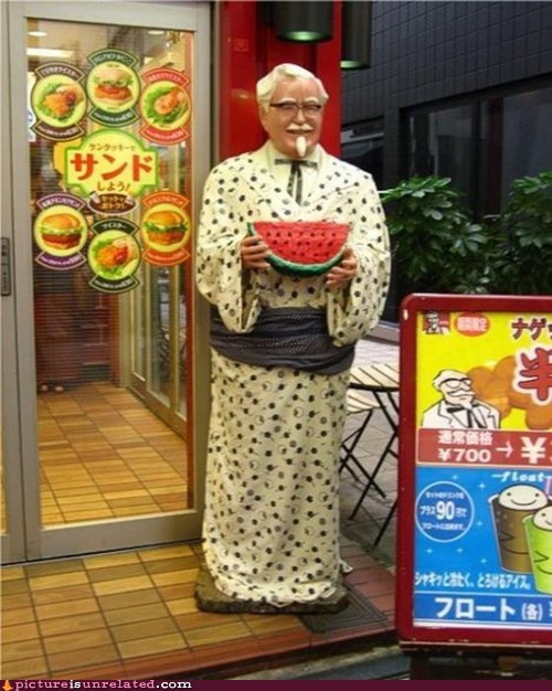 Kentucky Fried Chicken watermelon - 6585348608