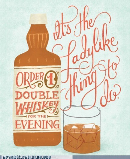 double whiskey ladylike like a lady - 6585362688