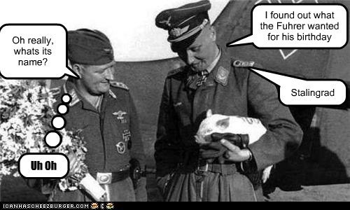 fuhrer Germany gift nazis pig stalingrad - 6585513984