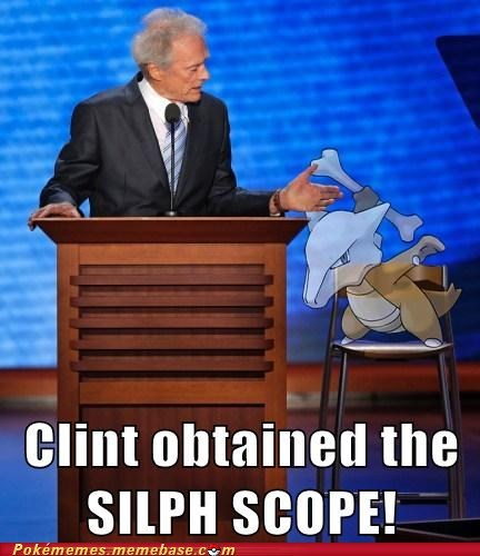 clint eastwood republican convention silph scope - 6585635072