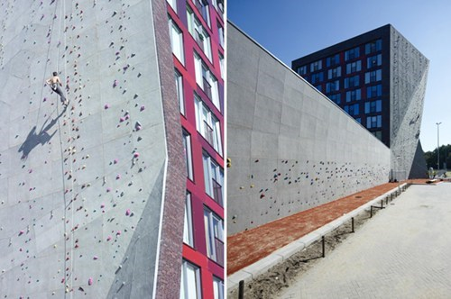 climbing design dorm rock climbing school wall - 6585720576