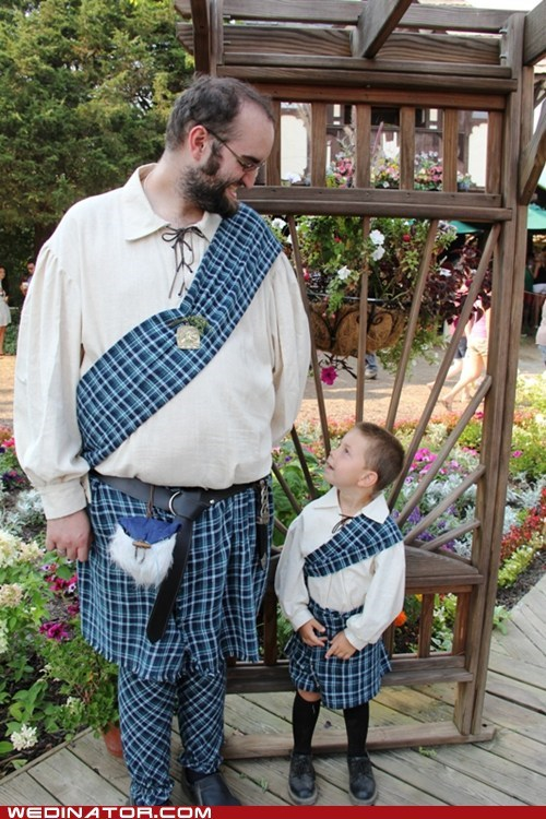 groom highlander kilt plaid ring bearer scottish tartan - 6585732864