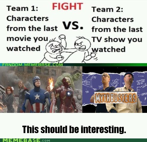 avengers,characters,Movie,mythbusters,myths