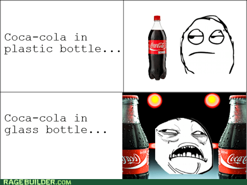 plastic bottle,glass bottle,coke,coca cola