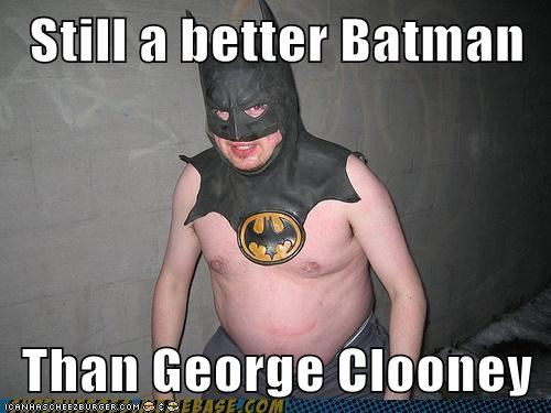 batman fat man george clooney - 6586383104