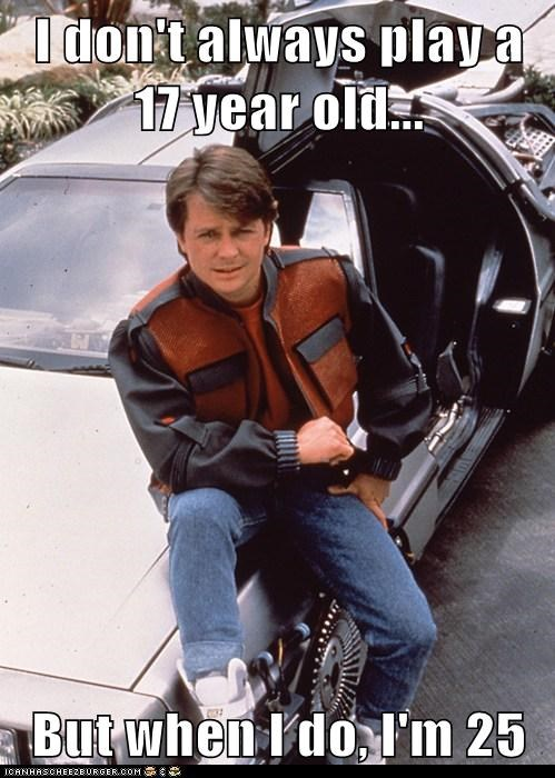 80s actor back to the future celeb funny michael j fox Movie nostalgia - 6587023872