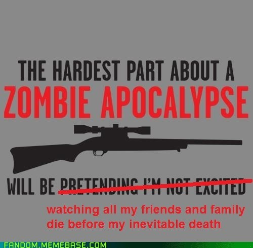 Nobody wants an apocalypse