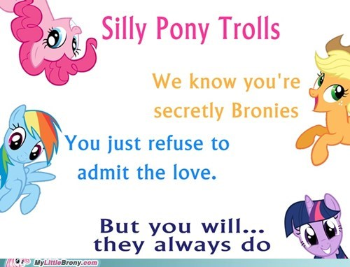 Bronies,parasprites,trolls