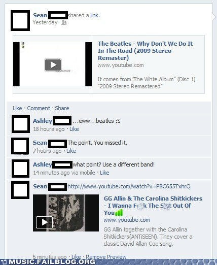 facebook the Beatles - 6587658496