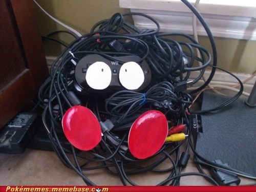 cords,IRL,tangela,tangled,wii