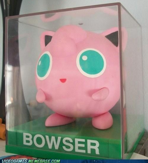 bowser jigglypuff Pokémon - 6588070656