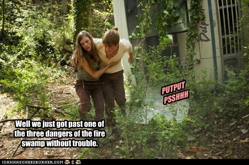 Tracy Spiridakos Charlie Matheson revolution j-j-abrams the princess bride swamp trouble dangers fire swamp sci fi - 6588098560