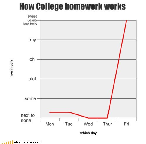How College homework works