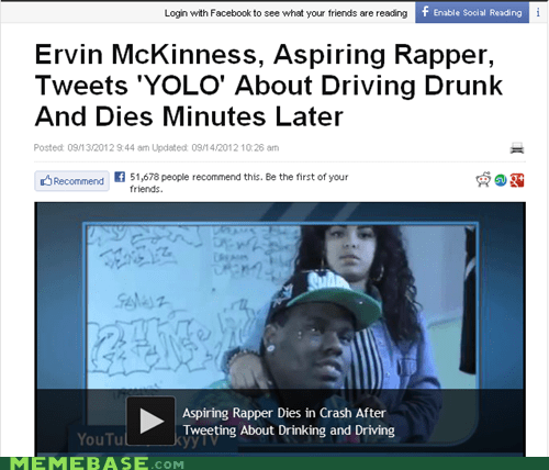 natural selection,rapper,tweets,yolo