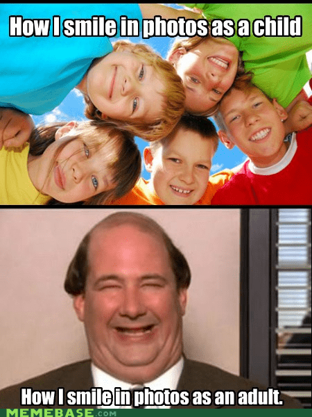 adult children kevin kids laughter smile the office