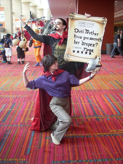 avengers,cosplay,shakespeare