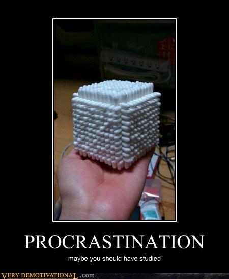 procrastination q tip wtf - 6588783360