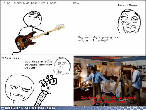 bass guitar Rage Comics - 6588876288