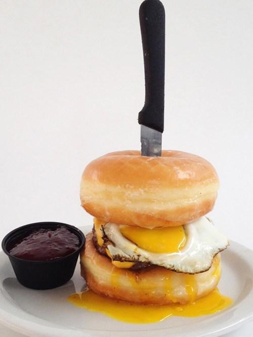 burger donut burger donuts unhealthy - 6589193728
