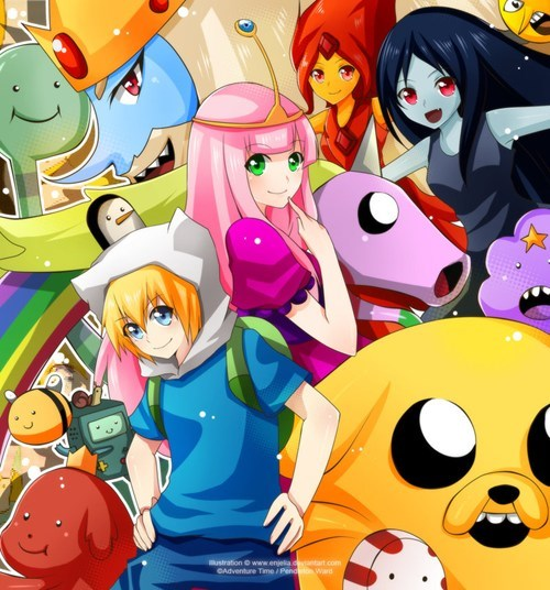 adventure time anime style Fan Art - 6589399040