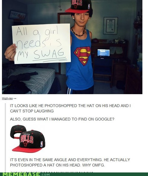 FAIL google hat photoshop swag - 6589681920