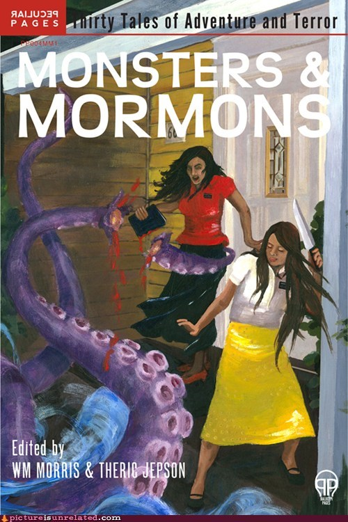 book,japanese entertainment,monster,mormons