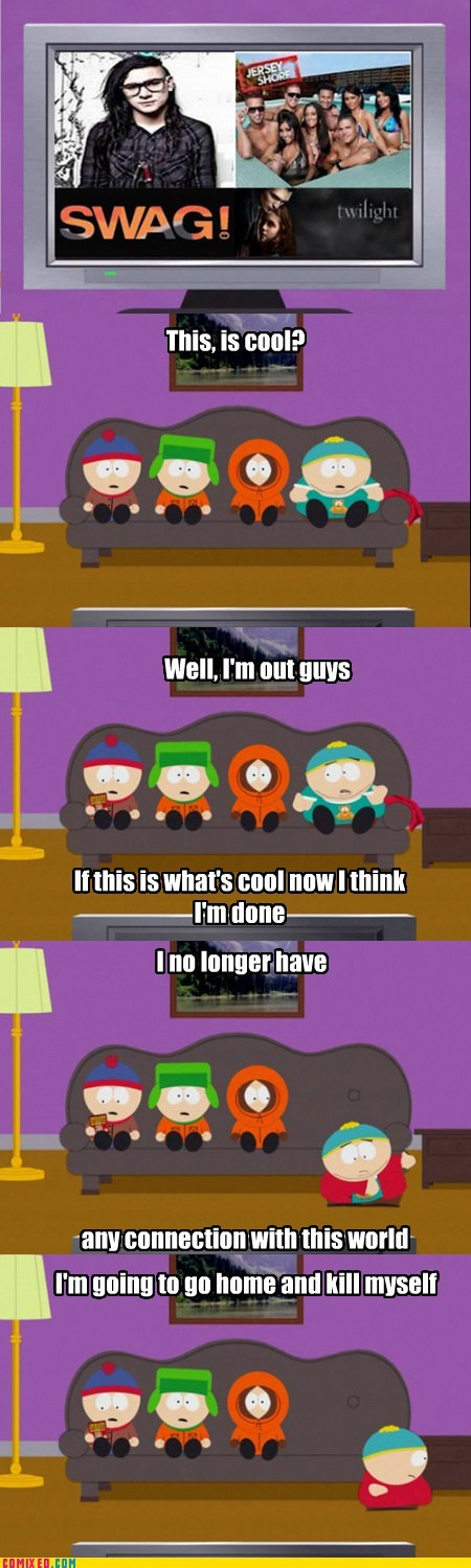 cool screw you guys southpark swag TV - 6590553088