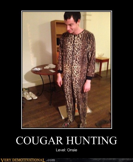 COUGAR HUNTING Level: Onsie