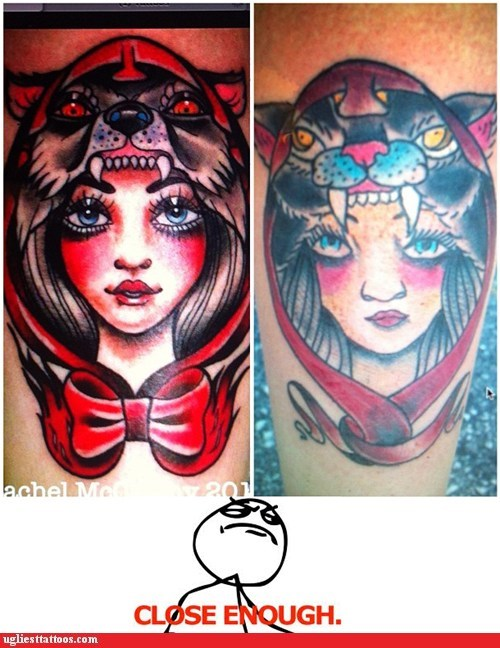 close enough guy Little Red Riding Hood - 6590779904