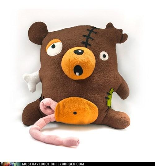 bear guts halloween Plush zombie - 6591121664