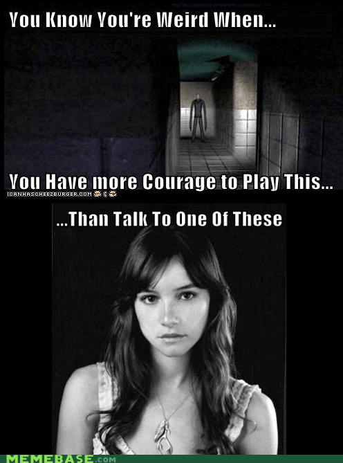 courage,cute,girls,sisfwip,slenderman,thanks for the title