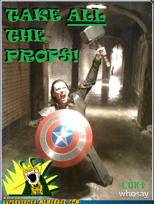 avengers,loki,props,tom hiddleston