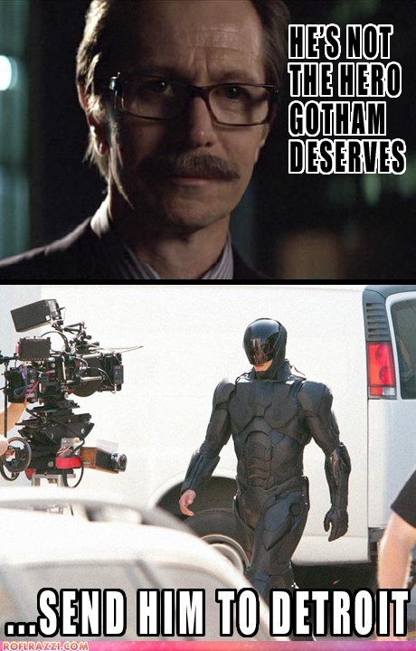 actor celeb comic funny Gary Oldman robocop the dark knight - 6591312384