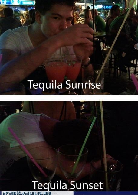 end of the night tequila sunrise tequila sunset - 6591425024