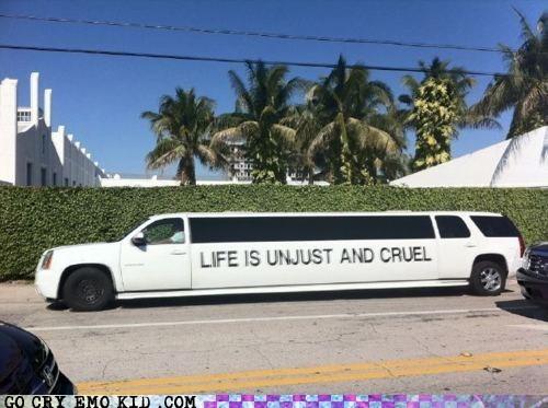 emo,life sucks,limousine,thats-my