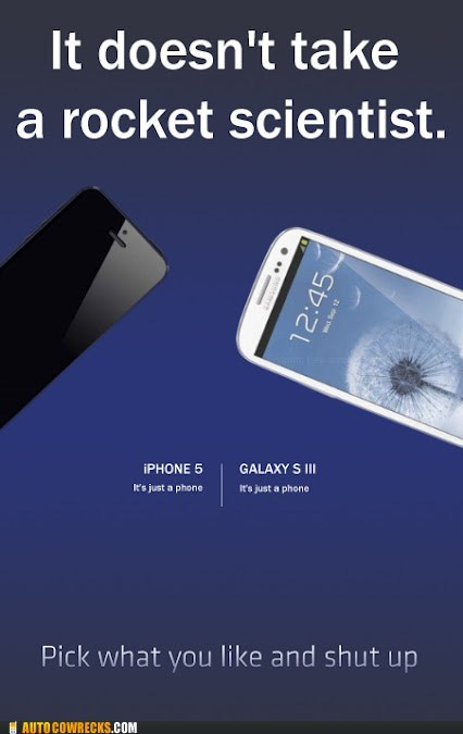 iphone 5 Rocket Science samsung galaxy shut up - 6591590912