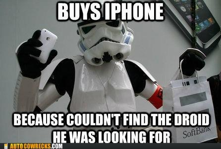 iphone,new phone,not-the-droids-youre-looking-for,star wars,stormtrooper