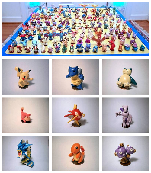 crafts,figurines,gen 1,Pokémon