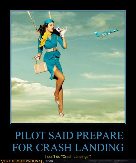 crash landing,pilot,Sexy Ladies,stewardess