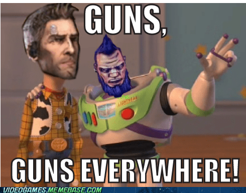 borderlands 2,guns,meme