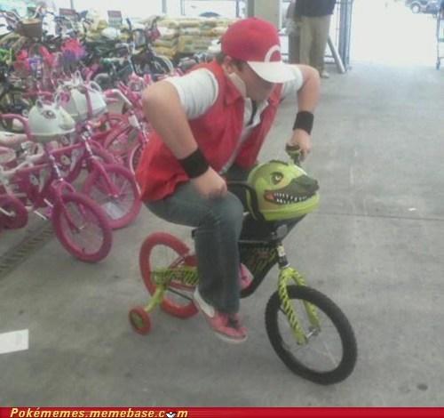 bicycle IRL professor oak - 6591922176
