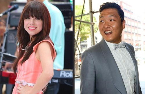 call me maybe carly rae jepsen gangnam style mashup psy - 6591975168