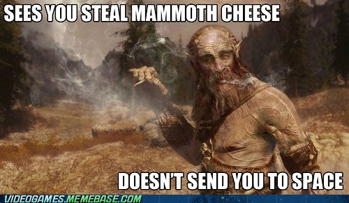 clubbed friendly giant mammoth cheese Skyrim - 6591987456