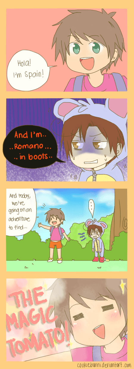 crossover dora the explorer Fan Art hetalia - 6592075008