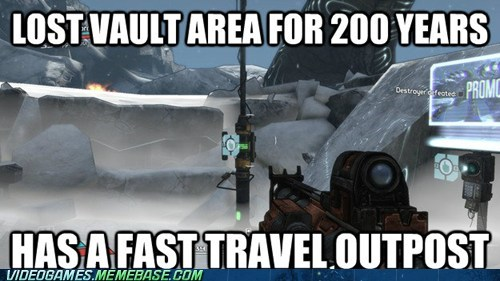 borderlands fast travel vault video game logic - 6592082432