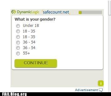 age Close Enough gender online survey - 6592187392